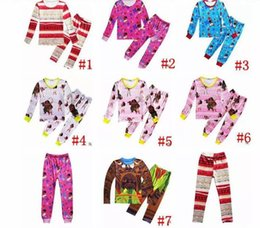 Wholesale Wholesale Clothing Cargos - Moana Clothing Sets Baby Boys Girls Autumn Toddler Kids Cotton cartoon long Sleeve T-shirt+Pants 2pcs sets baby kids clothes Suits