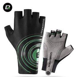 Wholesale Table Tennis Pad - Cycling Road Bike Short Gloves Men Sports Half Finger Gloves Anti Slip Gel Pad Bicycle MTB Road Bike Gloves