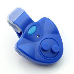 Wholesale Electronic Fishing - Wholesale-Durable Fish Sound Bite Finder Electronic Alarm LED Light Alert Bell Clip On Rod