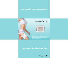 Wholesale Laser Lipo Home Machine - home use 650nm lipo light laser fat cells slimming ultrasonic lipo laser lipolysis slimming machine
