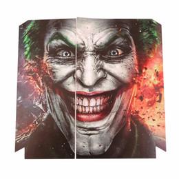 Etiquetas do palhaço on-line-Vendendo joker 250 ps4 pele ps4 adesivo vinly adesivo de pele para sony ps4 playstation 4 e 2 controlador skins ps4 adesivos