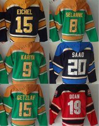 Wholesale cheap hoodie jackets - Buffalo Sabres #15 Jack Eichel columbus blue jackets #20 brandon saad Cheap Hockey Hooded Stitched Old Time Hoodies Sweatshirt Jerseys
