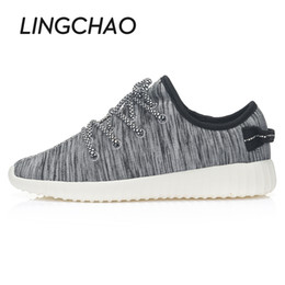 Wholesale Shoes Laces Sneakers - Wholesale-Women Skateboard Shoes,Lace Up Sneakers For Men,Height Increasing Male Sport Footwear,Zapatos Hombre Chaussure Femme 35-44 YDBX