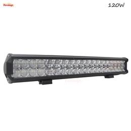 Wholesale Super Bright Bar Offroad - Super Bright 21 Inch New 120W Cree Chips 4 5D Lens LED Light Bar For Offroad ATV SUV 4*4 12V 24V