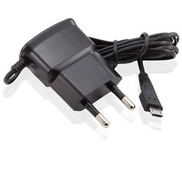 Wholesale chinese galaxy s2 - eu Wall Charger EU Plug Adapter For Samsung Galaxy S2 S3 I9100 android phone