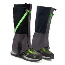 Wholesale wholesale hiking boot men - Wholesale- LUCKSTONE 1 Pair Waterproof Snow Boot Leg Leggings Includes Sturdy Outdoor Hiking Climbing