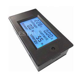 Wholesale Digital Volt Meter Ammeter - Wholesale-Free Shipping AC 80-260V LCD Digital 20A Volt Watt Power Meter Ammeter Voltmeter