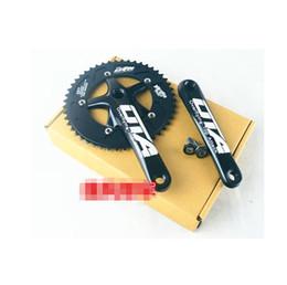 Wholesale Chain Wheel Crank - OTA AL7075 48T single speed fixed gear fixie bike crankset cycling Road track bicycle crank set chain wheel+Freeshipping