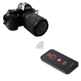 Wholesale Alpha Wireless - IR Wireless Shutter Release Remote Control for Sony Alpha Series A330, A450