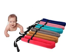 Wholesale Safety Vest Blue - Baby Walking Learning U Harness Walking Belt Assistant Adjustable Strap Child Safety Harness Baby Leash Cotton Vest T7044