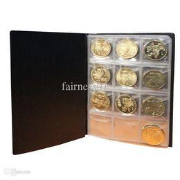 Wholesale Random Books - Useful Money Penny Pockets 121 Coin Holders Collection Storage Album Book Supply Random Color