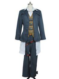 vestido cosplay pikachu Desconto Traje feito-à-medida do traje de Halloween dos homens adultos de Borderlands 2 Cosplay