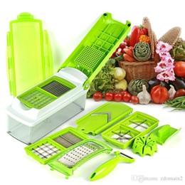 Wholesale Slicer Plus - 12pcs set Kitchen Tool Set Super Slicer Plus Vegetable Fruit Peeler Dicer Cutter Chopper