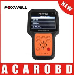 Wholesale Transmission Airbags - Original Foxwell NT624 AutoMaster Pro All Makes All Systems Scanner Engine Transmission ABS Airbag Diagnostic Tool Free Shipping