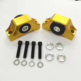 Wholesale honda b16 - For Honda Civic Engine Billet Motor Torque Mount fit for EG EK B16 B18 B20 D16 92-00 B&D Series Swap Mount Kit
