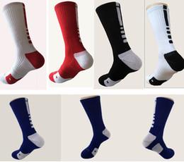 Wholesale Wholesale Socks Usa - USA Professional Men Winter Long Sports Socks Men's Elite Athletic Basketball Football Socks Long Knee Fashion Warm Quick-day Socks