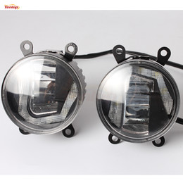 Wholesale Toyota Fog - Universal 3.5 Inch Osram 20W Fog Light With DRL For Toyota Nissan Suzuki Ford Peugeot Citroen Renault