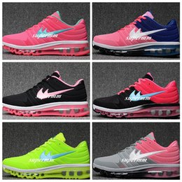 Wholesale Lowest Brand Max - 2017 Hot Selling Maxes Womens Running Shoes for Maxes 2017 Nanotechnology KPU Durable Cushion Brand Designer Sneaker Woman Shoe