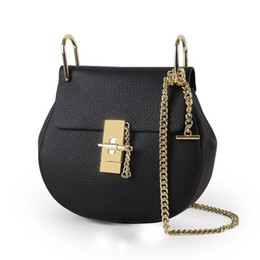 Wholesale Touch Shoulder Bags - Young Ladies Fashion Shoulder bags Good touch leather mini casual bags High quality hardware buckle and chain amazing cheap Accept OEM