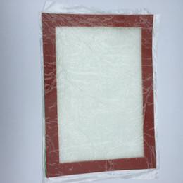 Fumo tappetini in silicone Dogo Cera tappetini antiaderenti in silicone Stuoia erba asciutta 30cm * 21.5cm Stuoia di cottura alimentare Dabber Fogli Tampone pad da