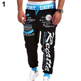 Wholesale Print Stores - Wholesale-Men's Letter Printed Sport Sweat Pants Jogging Trousers Tracksuit Bottoms Store 51