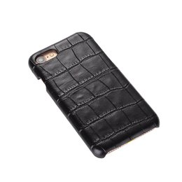 Wholesale Top Selling Iphone Cases - 50pcs Top Selling Fashion PC leather snake Wood Weave crocodile Skin PC Back Cover Slim Case for iphone 7 for samsung s7 Phone Case