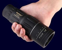 Wholesale Zoom Scope - 2016-50PCSFree shipping 2015 Telescope16x bifocal 16X52 Monocular Telescope Zoom 66M   8000MHD outdoor night vision spotting scope telescope
