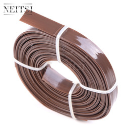 Wholesale Gluing Tips - Neitsi 1Roll Keratin Bonding Italian Flat Tips Roll Glue Rebonds for Keratin Prebonded Hair Extension Gule Nail Tips for Flat Tip Bonded