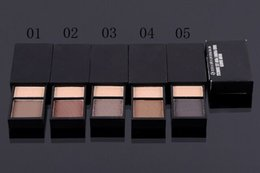 Wholesale Brow Shader - 2016 hot selling newest high quaility brand makeup New 2 colors eyeshadow, Eyebrow powder ,brow shader( 5 pcs lot) free shipping