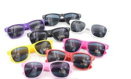 Wholesale Cheap Plastic Resin - Kids Adult Sunglasses Most Cheap Modern Beach Sunglass Plastic Classic Style Sunglasses 100 p l DHL Shipping