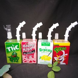Wholesale Liquid Smoke Oil - Pepsi Pipe Smoking Bong Oil Rigs Glass Bongs Liquid Sci Box Glass Water Pipe With Smoking Accessories Banger Nail And Carb Cap