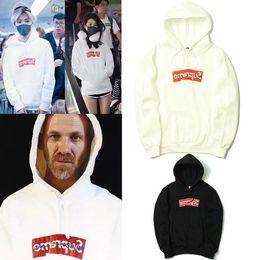 Wholesale Best Long Shirt Fashion - New Men's Casual Fleece Hooded Jacket sup Fashion pullover Hip hop Sweatshirts base shirt Man Warm Coat Best quality