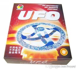 Wholesale Magic Suspended Ufo Toy - Free shipping Wholesael 48pc lot 2011 Magic suspended UFO Toy, air floating magic UFO ,Educational toys 0420qqzq