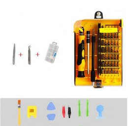 Wholesale Universal Screws - 45 in 1 magnetic precision screwdriver set torx screw Driver Tool kit professional torx tools for phone repair YLK