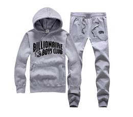 Wholesale Billionaire Boys - S-5XL BILLIONAIRE BOYS CLUB Hoodies BBC Men Hip Hop suit Cotton Sweatshirts black letter spring Baseball uniform