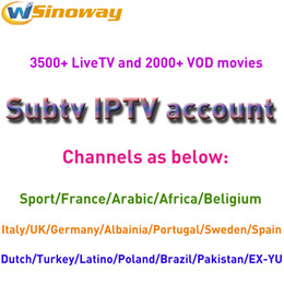 Wholesale Russia Arabic - Europe Iptv Subscription Subtv Watch Iptv Arabic Channels Italy Spain Germany Sweden Turkey Africa Europe Usa Canada Russia For M3u Mag250