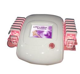 Wholesale Liposuction Machines For Sale - 14 laser paddles ! zerona lipolysis lipolaser liposuction zerona lipo laser slim machine for sale