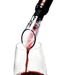 Wholesale Glass Wine Decanters - White Red Wine Aerator Pour Spout Bottle Stopper Decanter Pourer Aerating Wines Bottle Pourer CCA6983 1000pcs