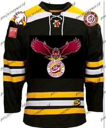 Wholesale Flame Numbers - Mens' Edmonton Oilers Ottawa Senators Calgary Flames Nashville Predators Jersey Customized with any team any name & number Throwback Jerseys