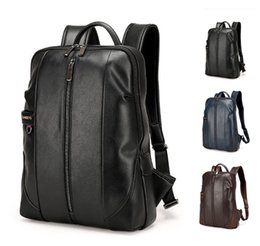 Wholesale Bucket S - 2017 Top Grade Backpack Bag for Men and Women College Unisex stu*s*sy plain Print Shoulder Bag PU Leather Out097