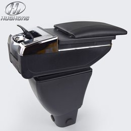 Wholesale Great Wall Hover Car - For Great wall hover M4 armrest central Store content Storage box with cup holder ashtray products car styling accessories 3 color 2012-2014