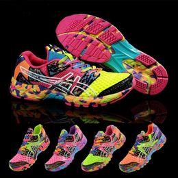 Wholesale Noosa Running Women - 2017 new Gel Noosa TRI 8 VIII Men Women Running Shoes 100% Original Cheap Jogging Sneakers Lightweight Sports Shoes Free Shipping Size 36-45
