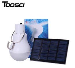 Wholesale Solar Charge Garden Lights - S-1200 15W 130LM Portable Led Bulb Garden Solar Powered Light Charged Solar Energy Lamp Free Shipping