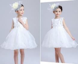 UK palace wedding dress - New children's clothing Hot summer cute Cinderella Dresses Palace Ting Lace wedding flower girl dress children dress skirt princess dress