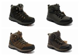 Wholesale Camel Boot Genuine Leather - Famouse Brand Camel High Hiking Boots Breathable Men Leather Casual Shoes Waterproof with Velvet Cotton Women Shoes Eur 39-44 Army Green