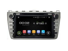 Wholesale Dvd Player For Mazda - 8'' Quad Core Android 5.1 Car DVD Stereo GPS For MAZDA 6 2008 2009 2010 2011 2012 Ultra 2008-2012 Ruiyi 2008-2012