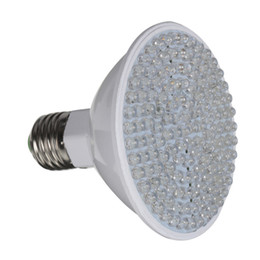 Wholesale Grow Lamp Beads - Wholesale-Excellent Quality E27 7W 138 LED Beads Plant Grow Lamp Yard Garden Hydroponics Light Plant Grow Lamp