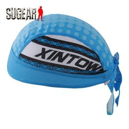 Wholesale Bike Cap Hat Headscarf - Wholesale-Xintown Cycling Cap Sweatproof Sunscreen Outdoor Sports Bicycle Bike Bandana Headscarf Headband Pirat Hat Gorras Ciclismo