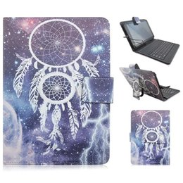 Wholesale 7inch Tablet Skins - New Design iPad 7inch 8 inch 9 inch 10 inch Universal Back Protective Cases With Keybord New Arrival Tablets Universal Holster Folding Folio