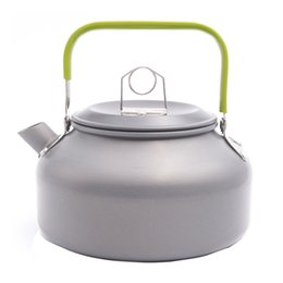 Wholesale Cookware Pots - Boundless Voyage 0.8L Camping Water Kettle Outdoor Tea Kettle Portable Coffee Pot Picnic Kettle BDS008